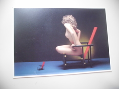 FEMME NUE ...PAUL HUF ..HOMMAGE A RIETVELD - Nus Adultes (< 1960)