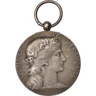 France, Ministère De L'Intérieur, Employés Communaux, Medal, 1921, Très Bon - Militari