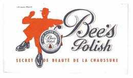 BUVARD PUB BEE'S POLISH SECRET DE BEAUTE DE LA CHAUSSURE CIRAGE - Vloeipapier