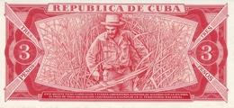 CUBA P. 107b 3 P 1988 UNC - Cuba