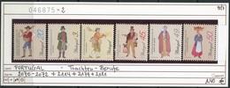 Portugal -  Michel 2070-72 + 2114 + 2179 + 2181 - ** Mnh Neuf Postfris - Trachten - Profissoes - 1910-... Republik