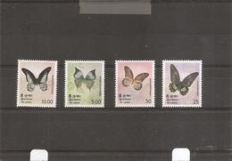Papillons ( 500/503 XXX -MNH- Du SriLanka) - Farfalle