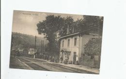 MARBACHE LA GARE (TRAIN ARRIVANT ET ANIMATION) - Sonstige Gemeinden