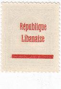 Lebanon -Liban 1927 Cedars 0,10 Overpint Rep.Libajaise RECTO-VERSO MNH Superb - - Lebanon