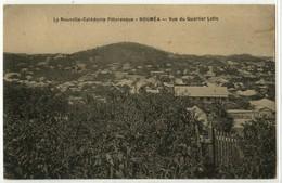 NOUVELLE CALEDONIE - NOUMEA - VUE DU QUARTIER LATIN - Nouvelle Calédonie