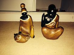 Lot Statues Africaines Afrique - Art Africain