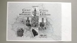 Belgien 4629/3 Block 199 ++/mnh, Stadtzentren - Gent; Blumenausstellung Floraliën Gent 2016