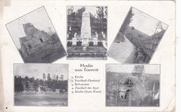 Moulin-sous-Touvent Gesamtkarte   Feldpost - Lassigny