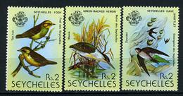 1979 - SEYCHELLES -  Catg. Mi. 430/431+433 - NH - (CAT85635.5) - Seychelles (1976-...)