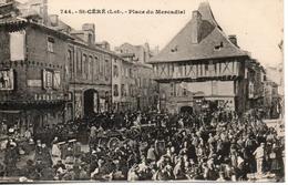46. St Céré. Place Du Mercadial - Saint-Céré