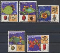 °°° REPUBBLICA DEL CONGO - Y&T N°855/59 - 1989 °°° - Congo - Brazzaville