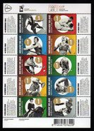 Netherlands Olympic Games 2012 Goldmedal Winners Anton Geesinks JUDO And 9 More Winners On S/Sheet Mnh.