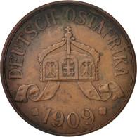 GERMAN EAST AFRICA, Wihelm II, 5 Heller, 1909, Hamburg, KM:11 - Afrique De L'Allemagne De L'Est