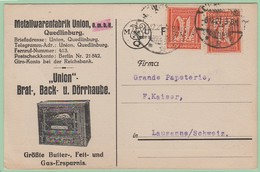 Perf.3 Perforé MUQ  Metallwaren Quedlinburg = Brat Back Dörrhaube    Four Rôtisserie  16.12.21 - Deutschland