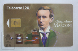 Collectible Characters Topic Phone Card - France Telecom - Giuglielmo Marconi - Personajes