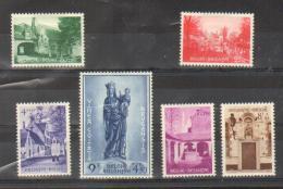 Belgique - N° 946/951 - N. CH. - Cote : 92,5 € - à  - De 20% - Belgium