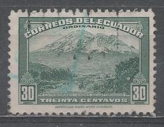 Ecuador 1947. Scott #407C (U) Mt. Chimborazo * - Equateur