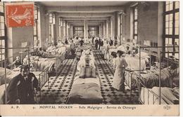9094. CPA PARIS. HOPITAL NECKER. SALLE MALGAIGNE. SERVICE DE CHIRURGIE. - Salute, Ospedali