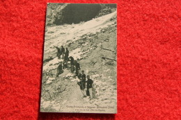 Alta Val Riparia Nei Pressi Di Oulx La Grotta Séguret + Timbro CAI Oulx Hotel Meuble - Andere Steden