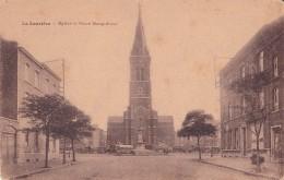 LA LOUVIERE : église Et Place Maugrétout - Belgique