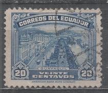 Ecuador 1944. Scott #408A (U) View Of Guayaquil * - Equateur
