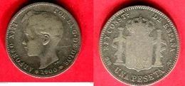 1 PESETA 1900   ( KM 88 ) TB 3,5 - Colecciones