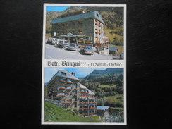 CARTE POSTALE : PRINCIPAT D'ANDORRA - ORDINO - Hôtel Bringué - Andorre