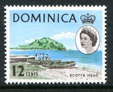 Dominica 1963-65 Definitives - 12c Scotts Head LHM (SG 170) - Dominica (...-1978)