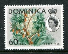 Dominica 1963-65 Definitives - 60c Cocoa Tree LHM (SG 175) - Dominica (...-1978)