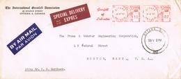 20638. Carta Aerea Expres OTTAWA (Ontario) Canada 1957. Grenfell Of Labrador