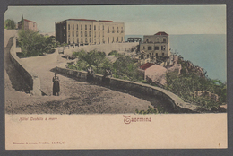 TAORMINA HOTEL CASTELLO A MARE FP NV SEE 2 SCANS ANIMATA - Italien