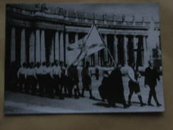 AK1305 – Romfahrt Der Führerschaft Der Junschar, Bezirk Dortmund – Ostern 1937 Fotokarte Hinten Bedruckt - Dortmund