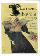 PUBLICITE EDITIONS HAZAN ART  HENRI DE TOULOUSE LAUTREC LA REVUE BLANCHE PRESSE  2357 - Cartoline