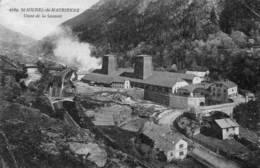 CPA - SAINT-MICHEL-de-MAURIENNE (73) - Aspect De L'Usine De La Saussaz En 1920 - Saint Michel De Maurienne