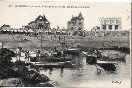 44. Lecroisic. Barques De Peche à La Plage De Port Lin - Le Croisic