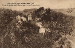 BELGIQUE - LIEGE - BUTGENBACH - ELSENBORN  - Camp - Kamp - Ruines De Reinhardstein - Puinen Van Het Slot Reinhardstein. - Butgenbach - Buetgenbach