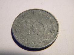 ALLEMAGNE - 10 REICHSPFENNIG 1942.A.