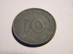 ALLEMAGNE - 10 REICHSPFENNIG 1943.A.