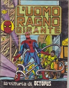 L'UOMO RAGNO GIGANTE -Serie Cronologica - Editore CORNO -N. 5 (240912) - L'uomo Ragno