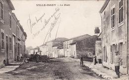 CPA 1915 VILLE-ISSEY (Euville) - La Route (A163, Ww1, Wk 1) - Frankrijk