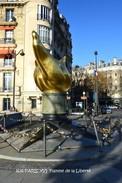 PARIS XVI (75)- Flamme De La Liberté Et Métro  (EDITION à TIRAGE LIMITE) - District 16