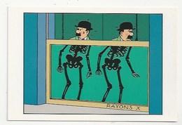 LES AVENTURES DE TINTIN - Rayons X - DUPONT & DUPOND -  - HERGÉ / MOULINSART 021 - Comics