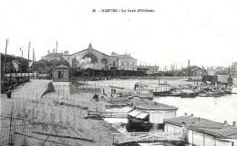 [DC3638] CPA - FRANCIA - NANTES - LA GARE D'ORLEANS - Non Viaggiata - Old Postcard - Nantes