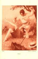 [DC3648] CPA - IDYLLE ALBERT GUILLAUME - Non Viaggiata - Old Postcard - Pittura & Quadri