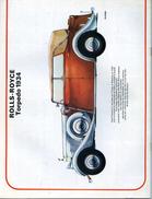 Modélisme AUTOMOBILE ROLLS ROYCE TORPEDO 1934 - Unclassified