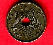 10 CENT ( KM 18 ) TB 4 - Zaire (1971 -97)