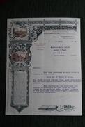 Lettre Ancienne, VILLEURBANNE - A.RAMBOZ, Société Anonyme Des Imprimeries. - France