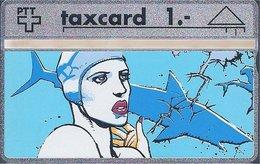 RTT - TAXCARD  //  Phonecard - Télécarte - Telefoonkaart  //  Enki Bilal - Zonder Classificatie