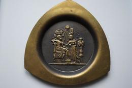 Lot De 3 Assiettes Décoration, Travail Artisanal égyptien - Art Africain