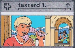 RTT - TAXCARD  //  Phonecard - Télécarte - Telefoonkaart  //  Jacques Martin (Alix / Alex) - Zonder Classificatie